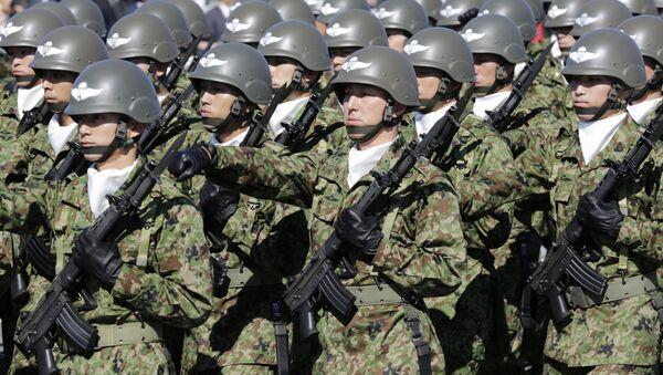 Lực lượng Phòng vệ Nhật Bản tại căn cứ Asaka - Sputnik Việt Nam