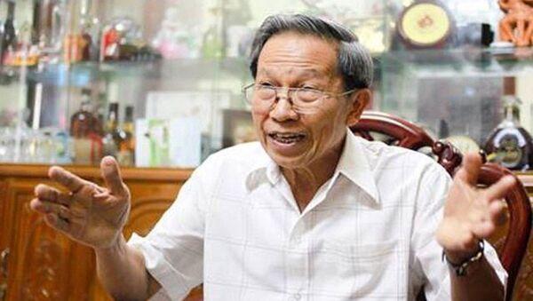 PGS.TS Thiếu tướng Lê Văn Cương, nguyên Viện trưởng Viện nghiên cứu chiến lược, Bộ Công an - Sputnik Việt Nam