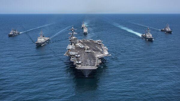 Tàu sân bay: sức mạnh tấn công của Hạm đội các cường quốc - Sputnik Việt Nam