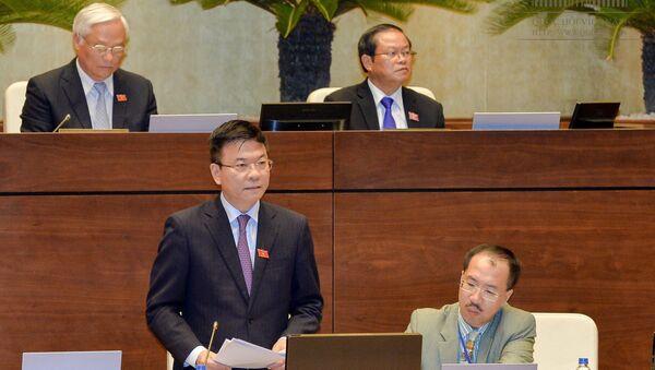 Bộ trưởng Bộ Tư pháp Lê Thành Long - Sputnik Việt Nam