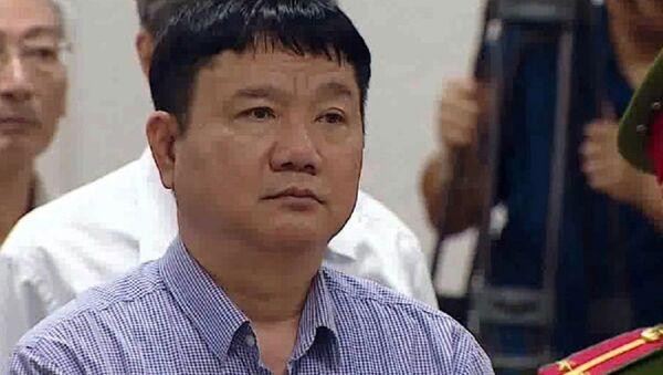 Bị cáo Đinh La Thăng tại phiên tòa - Sputnik Việt Nam