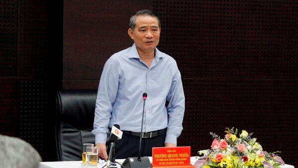Bí thư Thành ủy Đà Nẵng Trương Quang Nghĩa yêu cầu Sở GTVT xây dựng văn hóa giao thông - Sputnik Việt Nam