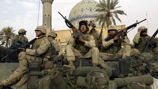 quân đội Mỹ ở Iraq, năm 2003 - Sputnik Việt Nam