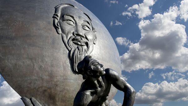 Tượng đài Chủ tích Hồ Chí Minh tại Matxcova - Sputnik Việt Nam