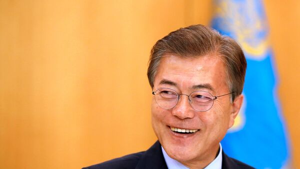 Tổng thống Hàn Quốc Moon Jae-in - Sputnik Việt Nam