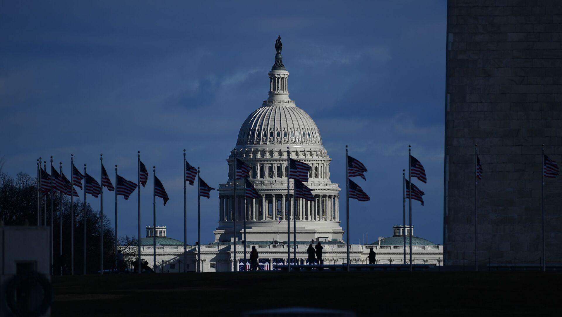 Quốc hội Mỹ - Sputnik Việt Nam, 1920, 28.09.2021