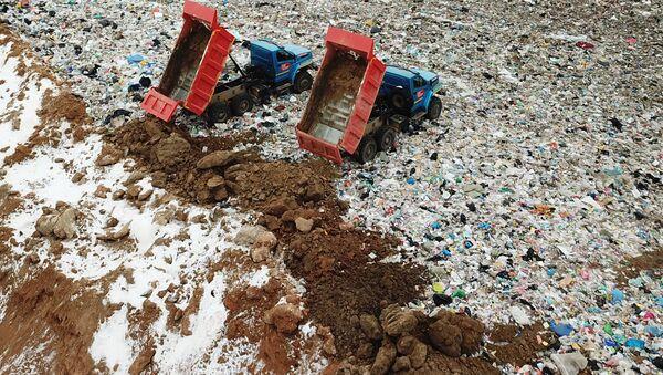Bãi rác thải sinh hoạt Yadrovo - Sputnik Việt Nam
