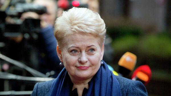 Dalia Grybauskaite - Sputnik Việt Nam