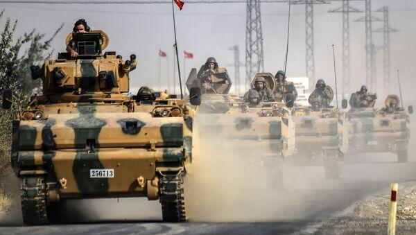 Xe tăng Thổ Nhĩ Kỳ ở Syria - Sputnik Việt Nam