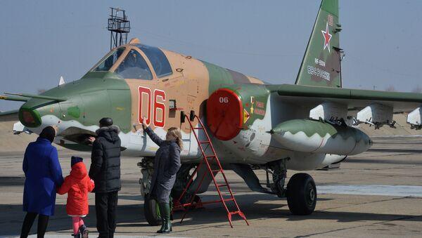 Máy bay Su-25 từ Primorye được mang tên người phi công đã hy sinh ở Syria - Sputnik Việt Nam
