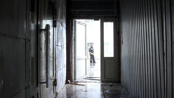 Ảnh chụp trung tâm thương mại bị cháy Zimnyaya Vishnya - Sputnik Việt Nam