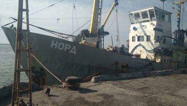 Ukraina bắt giữ tàu đánh cá Crưm Nord - Sputnik Việt Nam