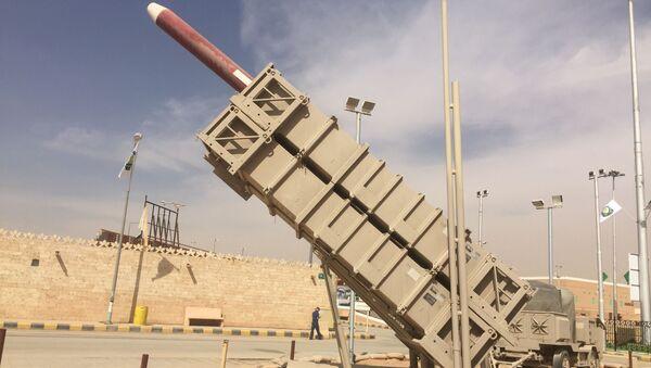 Hệ thống chống tên lửa MIM-104 Patriot Saudi Arabia - Sputnik Việt Nam