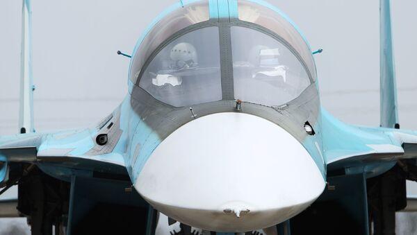 Mỏ vịt - chi tiết đặc trưng bên ngoài của Su-34. - Sputnik Việt Nam