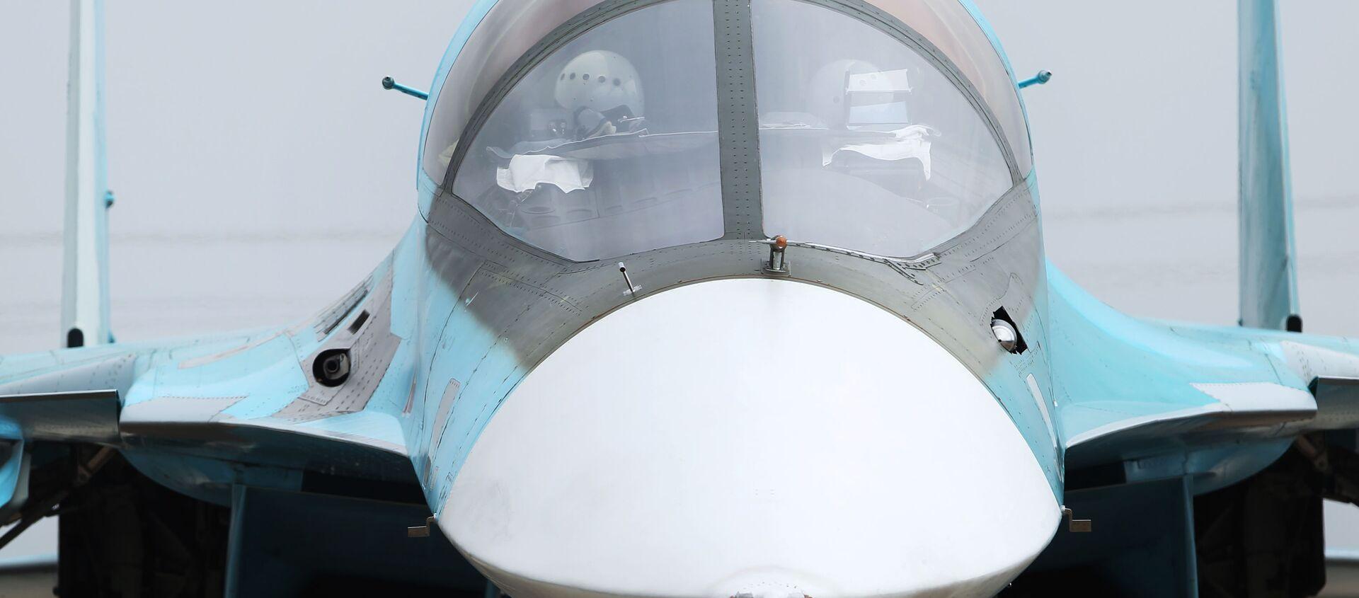 Mỏ vịt - chi tiết đặc trưng bên ngoài của Su-34. - Sputnik Việt Nam, 1920, 30.05.2021