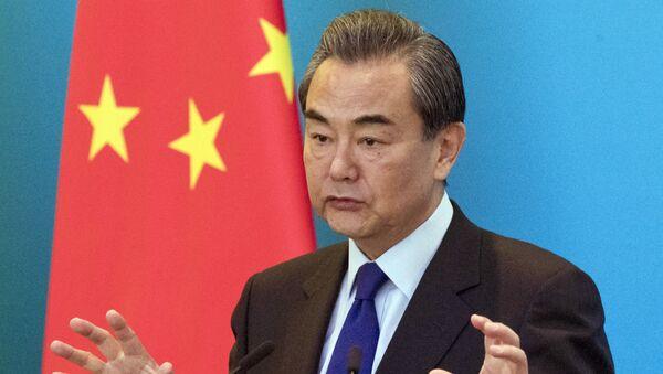 Ngoại trưởng Trung Quốc Vương Nghị - Sputnik Việt Nam