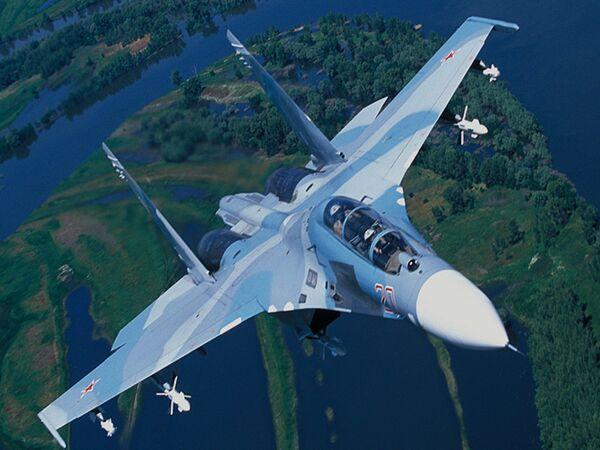 Tiêm kích cơ huấn luyện - chiến đấu Su-27UBK - Sputnik Việt Nam