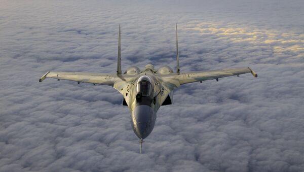 Tiêm kích cơ Su-35 - Sputnik Việt Nam