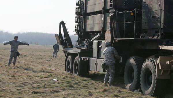 Hệ thống phòng thủ tên lửa Mỹ MIM-104 «Patriot» triển khai trong cuộc tập trận quân sự ở Ba Lan - Sputnik Việt Nam