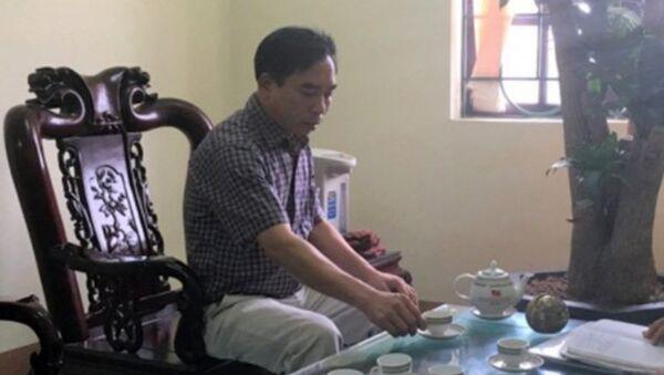 Ông Phạm Văn Thụy - Chủ tịch UBND xã Trung Nghĩa (Hưng Yên). - Sputnik Việt Nam