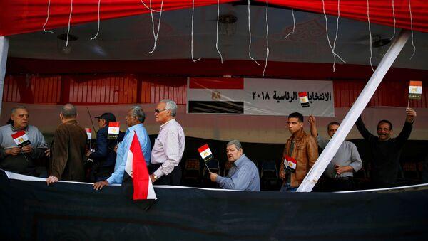 bầu cử Ai Cập - Sputnik Việt Nam