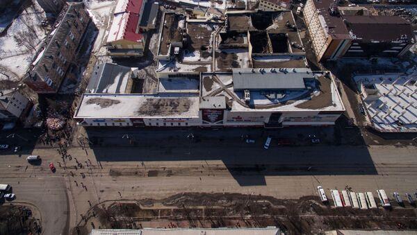 Trung tâm thương mại bốn tầng Zimnyaya vishnya ở Kemerovo - Sputnik Việt Nam