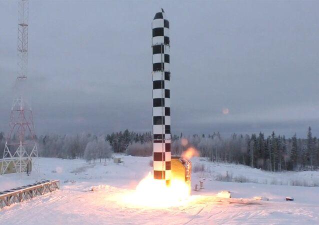 Hệ thống tên lửa chiến lược (RKSN) Sarmat