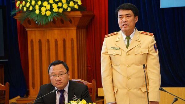 Thiếu tướng Nguyễn Hữu Dánh, Cục phó Cục CSGT - Sputnik Việt Nam