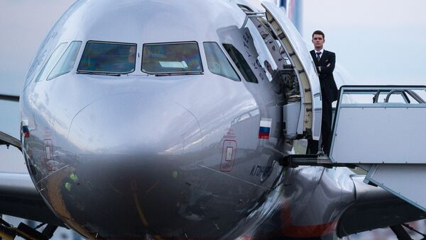 "Máy bay của ""Aeroflot"" - Sputnik Việt Nam"