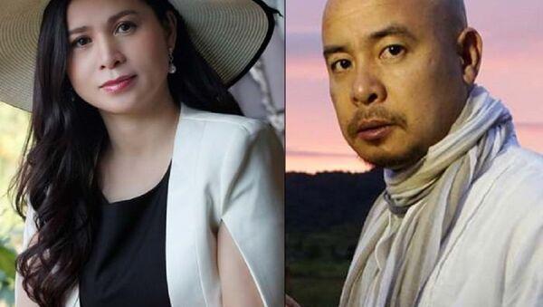 Đặng Lê Nguyên Vũ và vợ cũ – bà Lê Hoàng Diệp Thảo - Sputnik Việt Nam