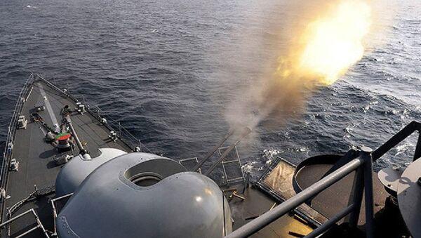 Pháo hạm Oto Melara Compact - Sputnik Việt Nam