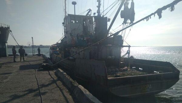Tàu đánh cá Crưm Nord - Sputnik Việt Nam
