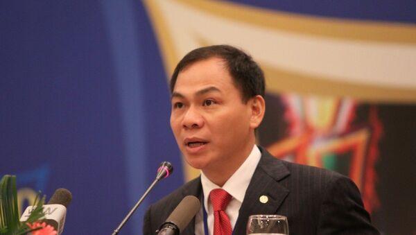 Tỷ phú Phạm Nhật Vượng - Sputnik Việt Nam