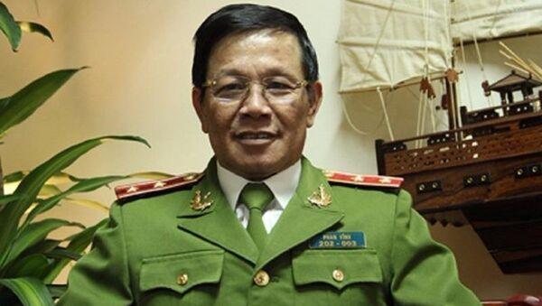 Trung tướng Phan Văn Vĩnh, tổng cục trưởng Tổng cục Cảnh sát, Bộ Công an - Sputnik Việt Nam