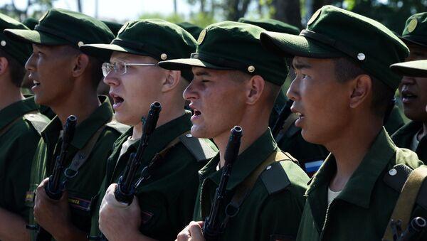 quân nhân vùng Primorye - Sputnik Việt Nam