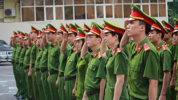 Bộ Công an yêu cầu công an các đơn vị, địa phương tiếp tục siết chặt kỷ luật, kỷ cương. - Sputnik Việt Nam