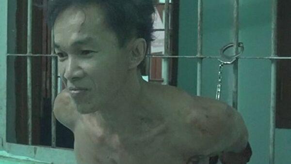 Nghi phạm Tâm chặt đầu hàng xóm - Sputnik Việt Nam