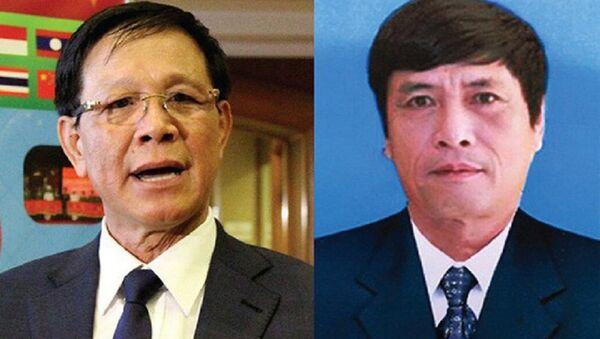 Ông Phan Văn Vĩnh (trái) và Nguyễn Thanh Hóa. - Sputnik Việt Nam