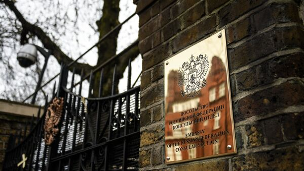 Đại sứ quán Nga tại London - Sputnik Việt Nam
