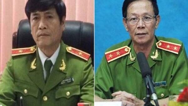 Trước khi Cơ quan điều tra khởi tố, bắt tạm giam ông Nguyễn Thanh Hóa (trái) và Phan Văn Vĩnh đã có thông tin đồn thổi. - Sputnik Việt Nam