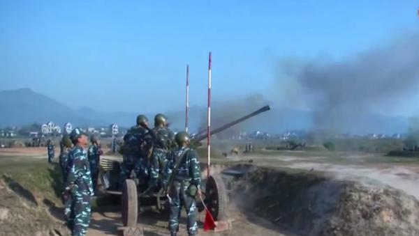 Pháo cao xạ 37 mm của Việt Nam - Sputnik Việt Nam