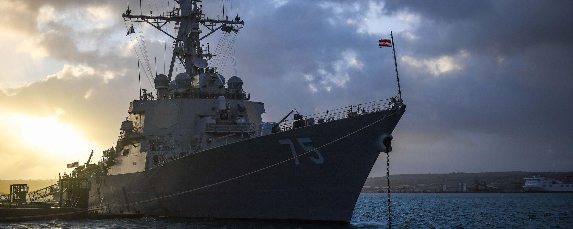 USS Donald Cook - Sputnik Việt Nam, 1920, 01.02.2021