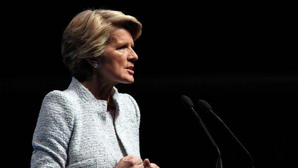 Bộ trưởng Ngoại giao Australia Julie Bishop - Sputnik Việt Nam