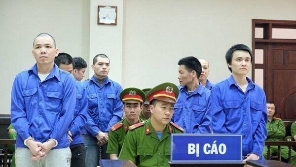 Các bị cáo tại phiên tòa phúc thẩm ngày 11-4 - Sputnik Việt Nam