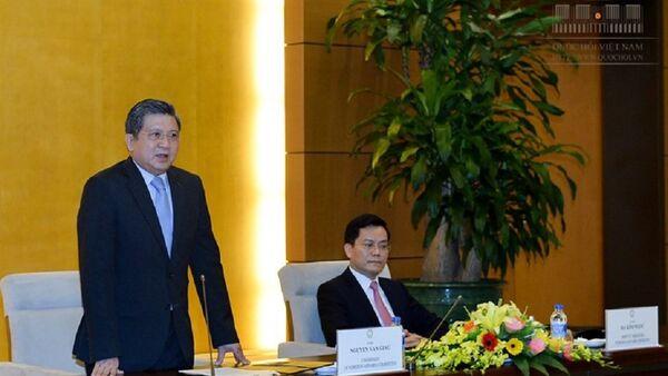 Chủ nhiệm Ủy ban Đối ngoại của Quốc hội Nguyễn Văn Giàu. - Sputnik Việt Nam