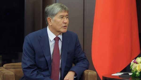 Tổng thống Almazbek Atambayev - Sputnik Việt Nam