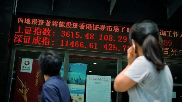 Thị trường chứng khoán Thượng Hải - Sputnik Việt Nam