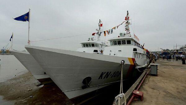 Kiểm ngư Việt Nam vừa tiếp nhận 2 tàu kiểm ngư hiện đại - Sputnik Việt Nam