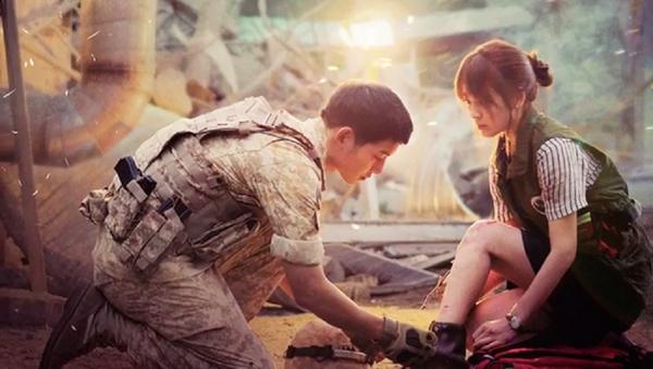Cặp diễn viên chính Song - Song trong Hậu duệ mặt trời phiên bản Hàn - Sputnik Việt Nam
