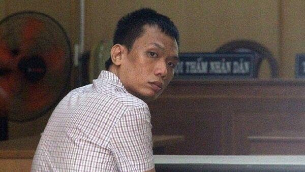 Bị cáo Nguyễn Hoàng Dương tại phiên tòa. - Sputnik Việt Nam